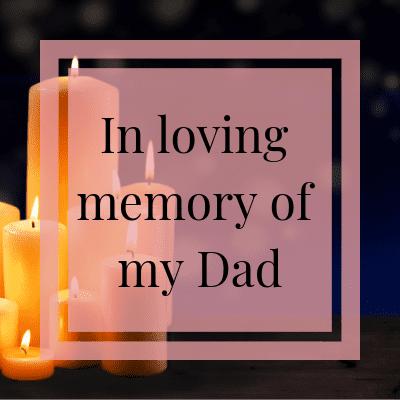 In Loving Memory | One Step Woman