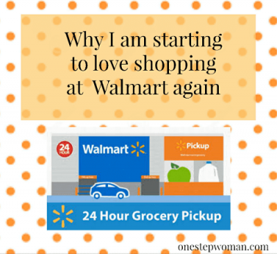 Walmart Grocery Pickup | One Step Woman