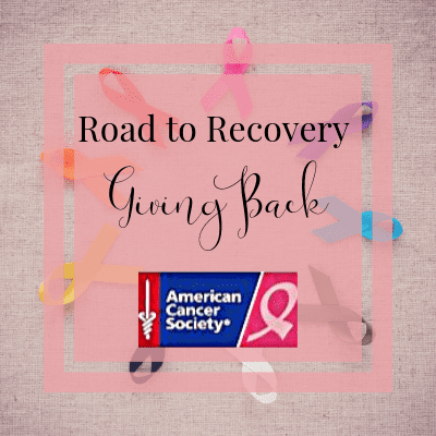 Road to Recovery Giving Back | One Step Woman