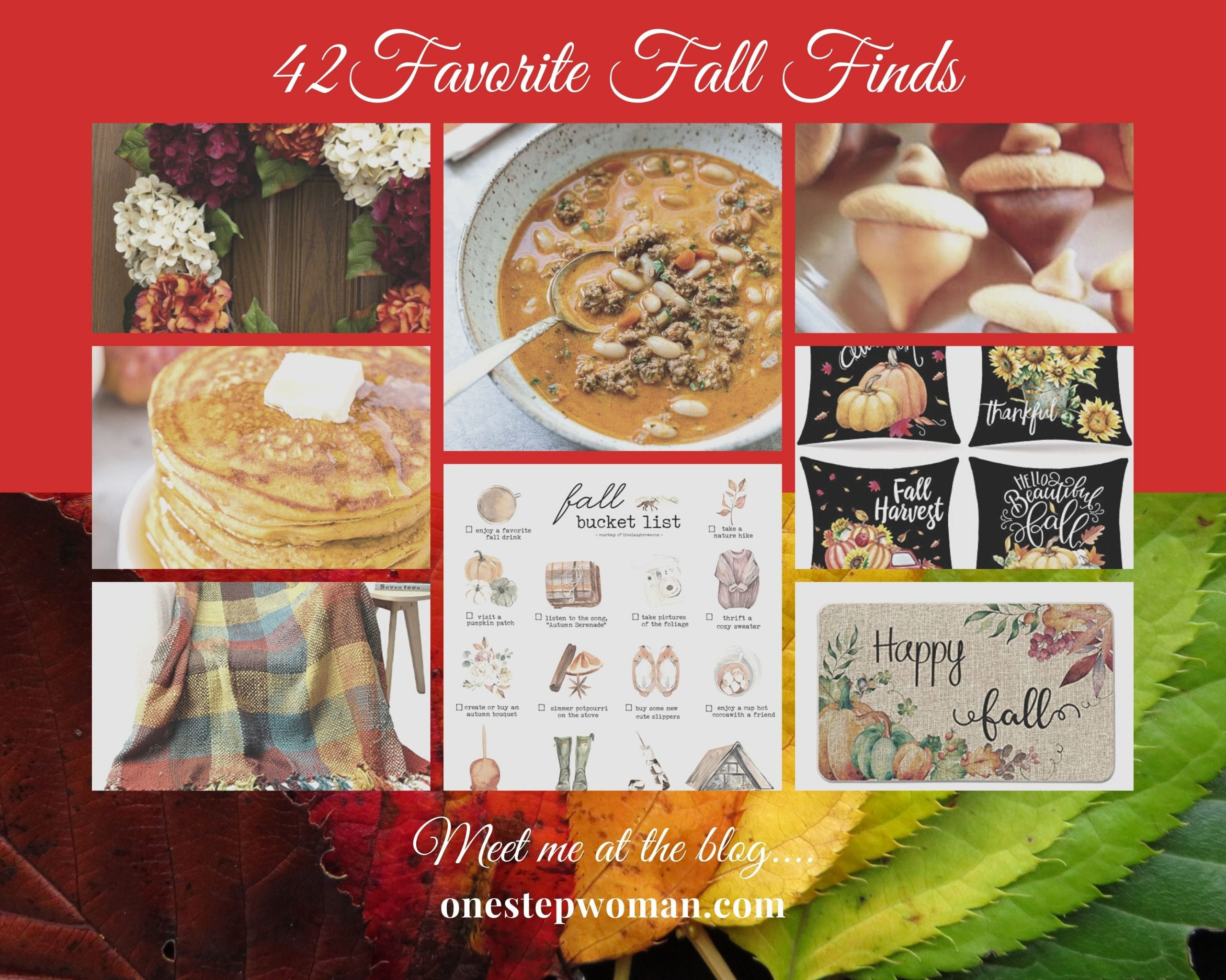 42 Favorite Fall Finds | One Step Woman