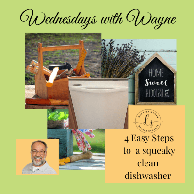 4 Easy Steps to a Squeaky Clean Dishwasher | One Step Woman