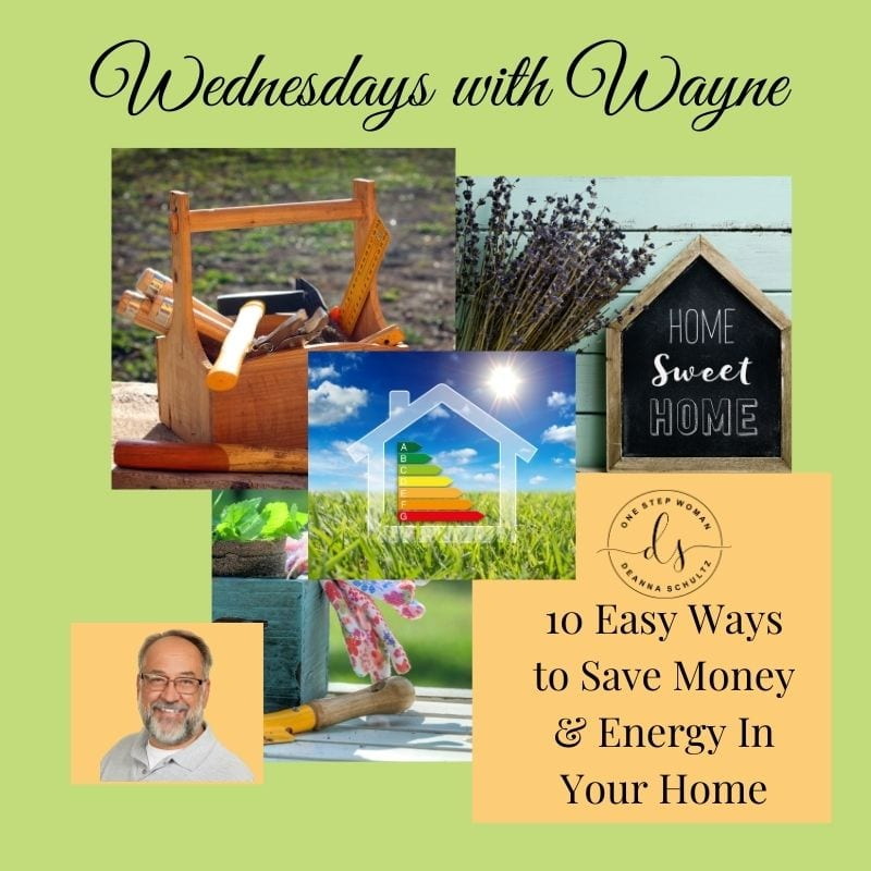 10 Easy Ways to Save Money & Energy In Your Home | One Step Woman