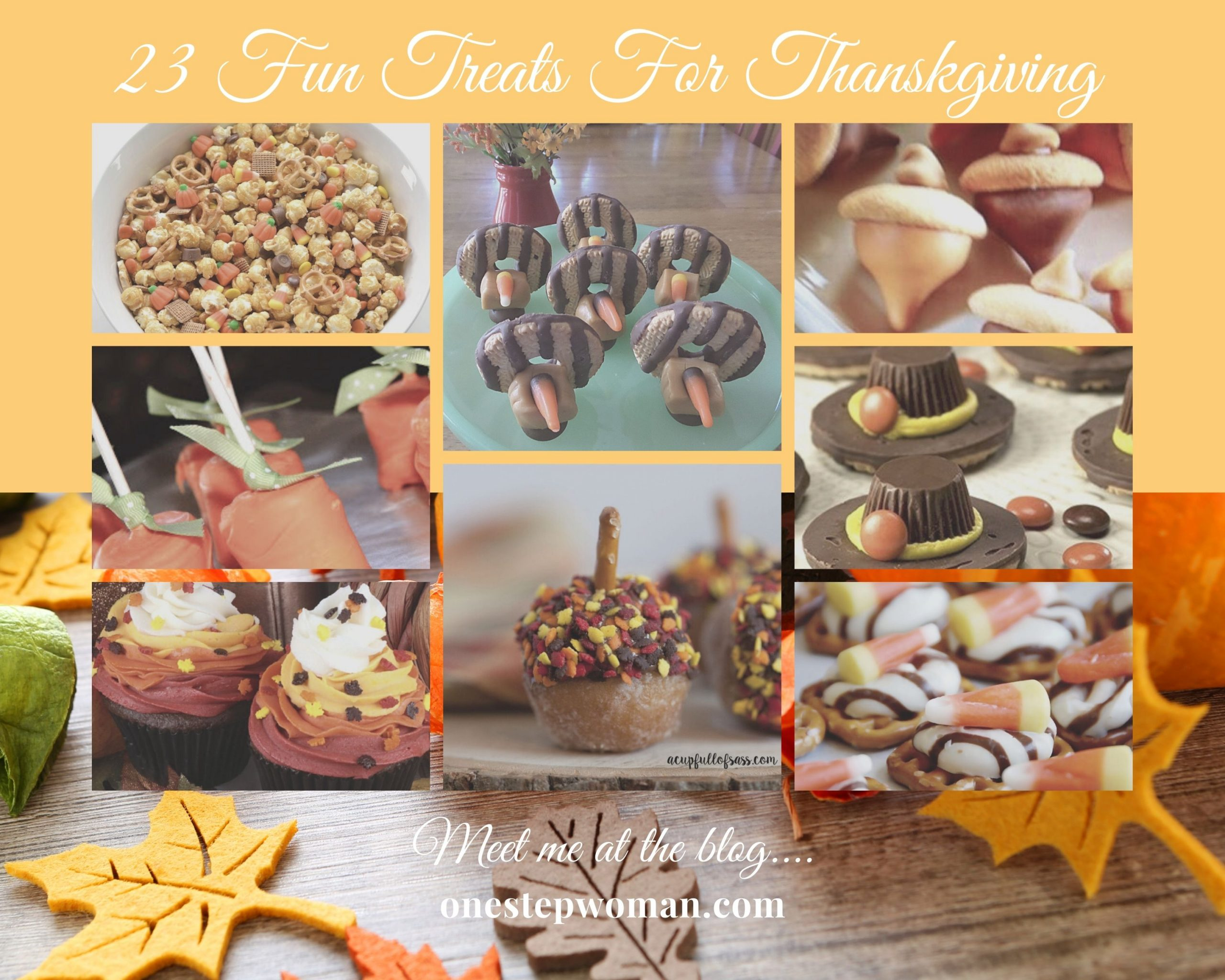 23 Fun Treats for Thanksgiving \ One Step Woman