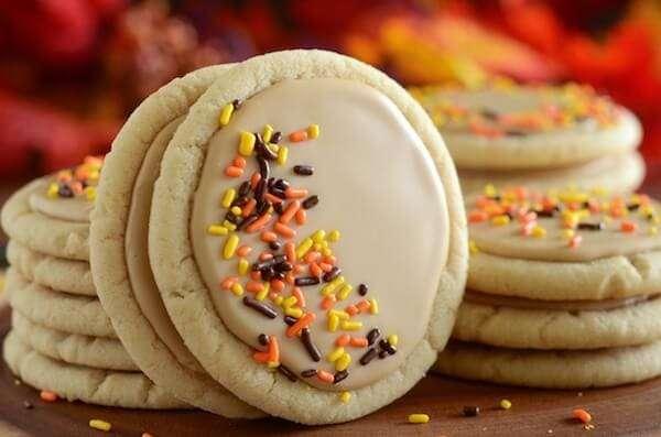 Soft Maple Sugar Cookies