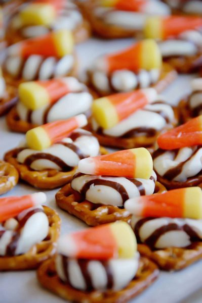 Sweet and Salty Candy Corn Treats