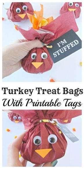 Turkey Treat Bags
