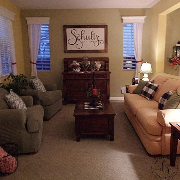 Living Room | One Step Woman